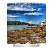 Isle Au Haut House Shower Curtain