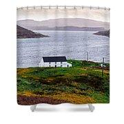 Isle Of Skye Cottage Shower Curtain