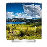 Isle Of Skye In Scotland Shower Curtain