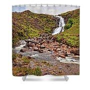 Isle Of Skye Waterfall Shower Curtain