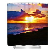 Isle Sol Chica  Shower Curtain