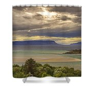 Isles Of Eigg And Rum Shower Curtain
