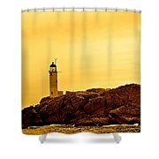 Isles Of Shoals Shower Curtain