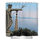 Isola Bella Lookout Shower Curtain