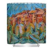 Isola Di Piante Small Italy Shower Curtain