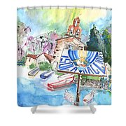 Isola Maggiore In Italy 01 Shower Curtain