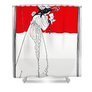 Isolde 1899 Shower Curtain