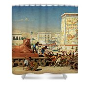 Israel In Egypt, 1867 Shower Curtain
