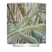 Issaquah Forest Shower Curtain