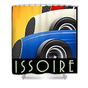 Issoire France Grand Prix Historique Shower Curtain
