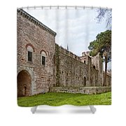 Istanbul City Wall 04 Shower Curtain