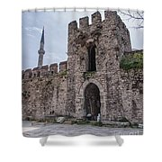 Istanbul City Wall 05 Shower Curtain