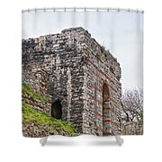 Istanbul City Wall 06 Shower Curtain