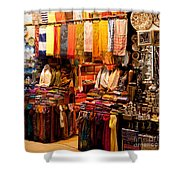 Istanbul Grand Bazaar 08 Shower Curtain