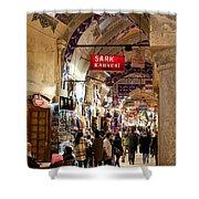 Istanbul Grand Bazaar 09 Shower Curtain