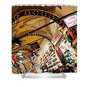 Istanbul Grand Bazaar 11 Shower Curtain