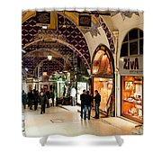 Istanbul Grand Bazaar 12 Shower Curtain