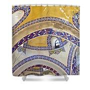 Istanbul Grand Bazaar Interior Shower Curtain