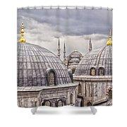 Istanbul Landmarks  Shower Curtain