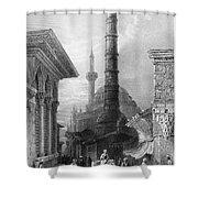 Istanbul: Porphyry Column Shower Curtain