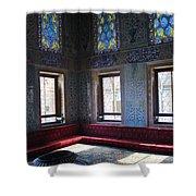 Istanbul Topkapi 1 Shower Curtain