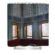 Istanbul Topkapi 3 Shower Curtain
