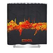 Istanbul Turkey Shower Curtain