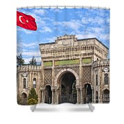 Istanbul University 02 Shower Curtain