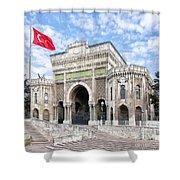 Istanbul University 03 Shower Curtain