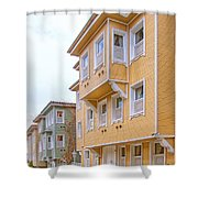 Istanbul Wooden Houses 02 Shower Curtain