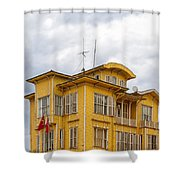 Istanbul Wooden Houses 04 Shower Curtain
