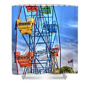 It Comes Full Circle Shower Curtain