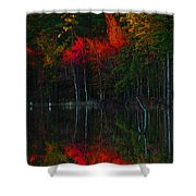 It Fall Time Again Shower Curtain