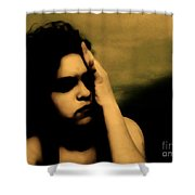 It Hurts Because It Matters Shower Curtain