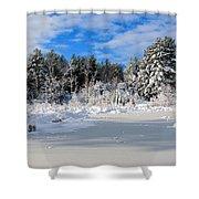 It Snow Reason Shower Curtain