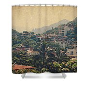 It Was Years Ago Shower Curtain
