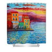 Italian Dream Shower Curtain