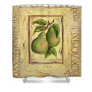 Italian Fruit Pears Shower Curtain