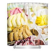 Italian Gelatto Ice Cream Shower Curtain