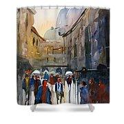 Italian Impressions 5 Shower Curtain by Ryan Radke