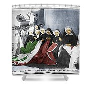 Italian Nuns Shower Curtain