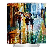 Italian Rain Shower Curtain