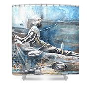 Italian Sculptures 04 Shower Curtain