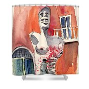 Italian Sculptures 05 Shower Curtain