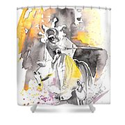 Italian Sculptures 07 Shower Curtain