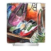Italian Shoes 01 Shower Curtain