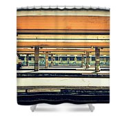 Italian Train Station Shower Curtain
