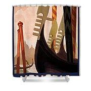 Italian Travel Poster, C1920 Shower Curtain