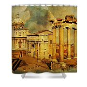 Italy 05 Shower Curtain by Catf