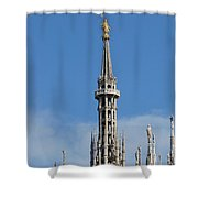 The Spire Of Milan Cathedral Shower Curtain